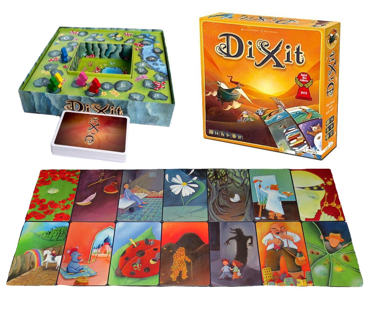 Dixit, un juego muy imaginativo... que hará las delcias de niños y adultos