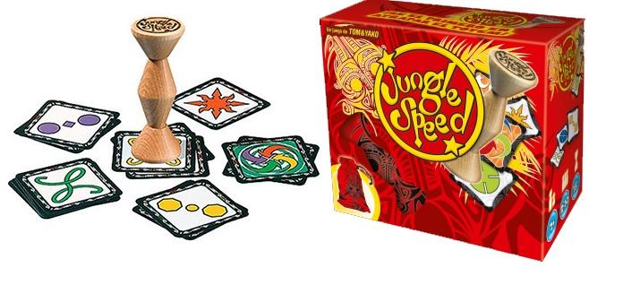 En Jungle Speed tendrás que afinar tus sentidos si quieres ganar