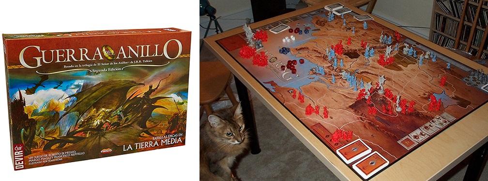 Los gatos también quieren dominar el mundo. La Guerra del Anillo.