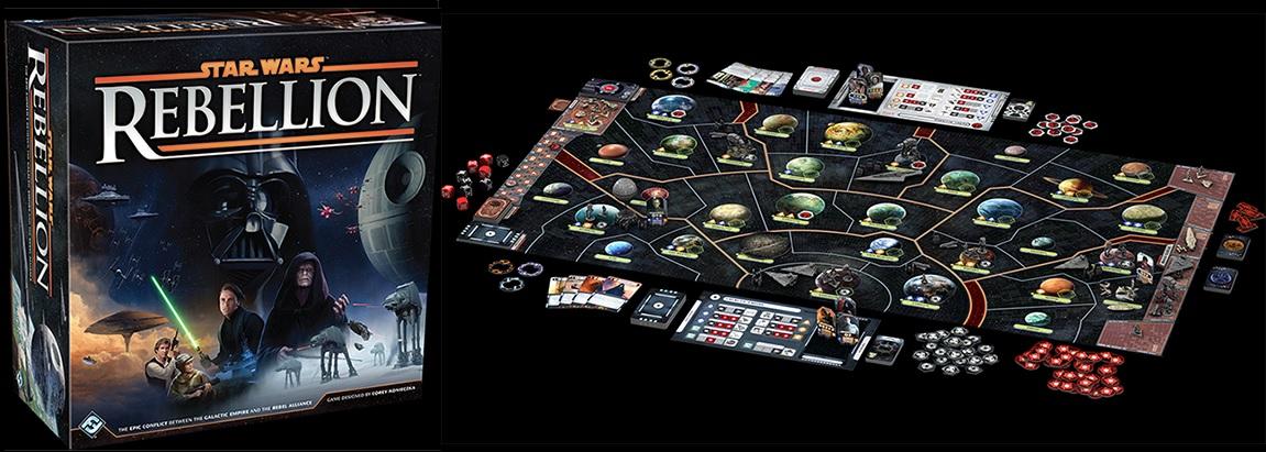Star Wars Rebellion, un excelente juego para una excelente saga.