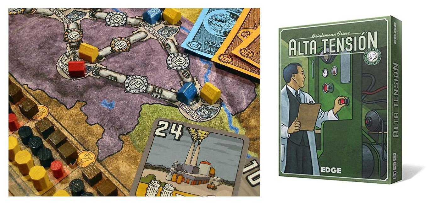 Alta Tensión es un eurogame muy completo y dinámico.