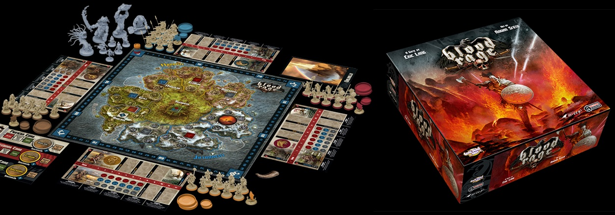 Blood Rage, por fin podemos encontrar el Valhalla... aunque sea en un juego de mesa