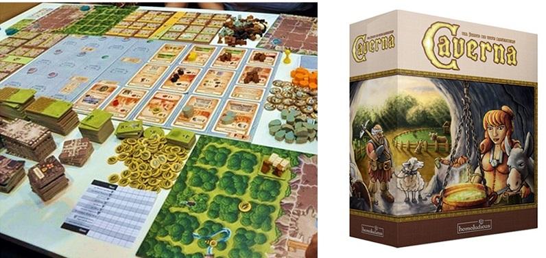 Caverna, un eurogame puro y duro para los más jugones del género