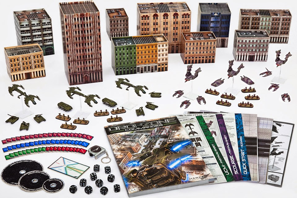 Dropzone Commander, estrategia a 10mm
