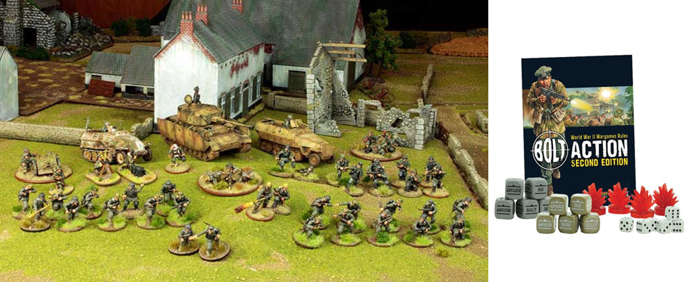 Bolt Action... incursiones en la SGM.
