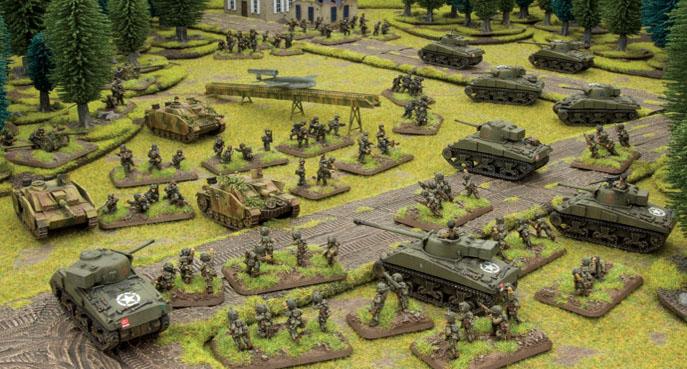 Flames of War nos pone al mando de un verdadero ejército.