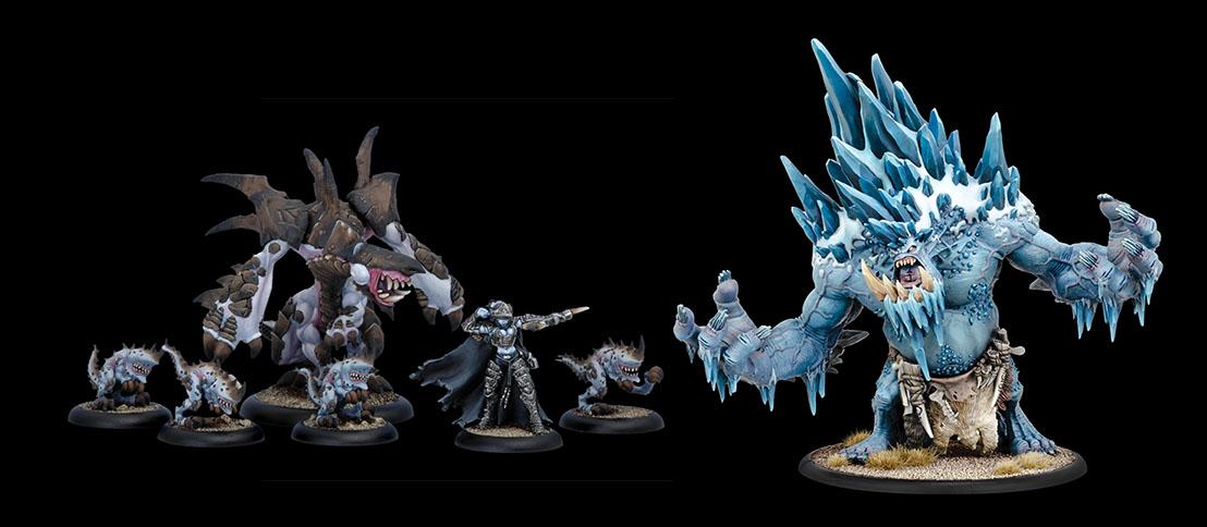 Hordes/Warmachine tiene miniaturas realmente espectaculares