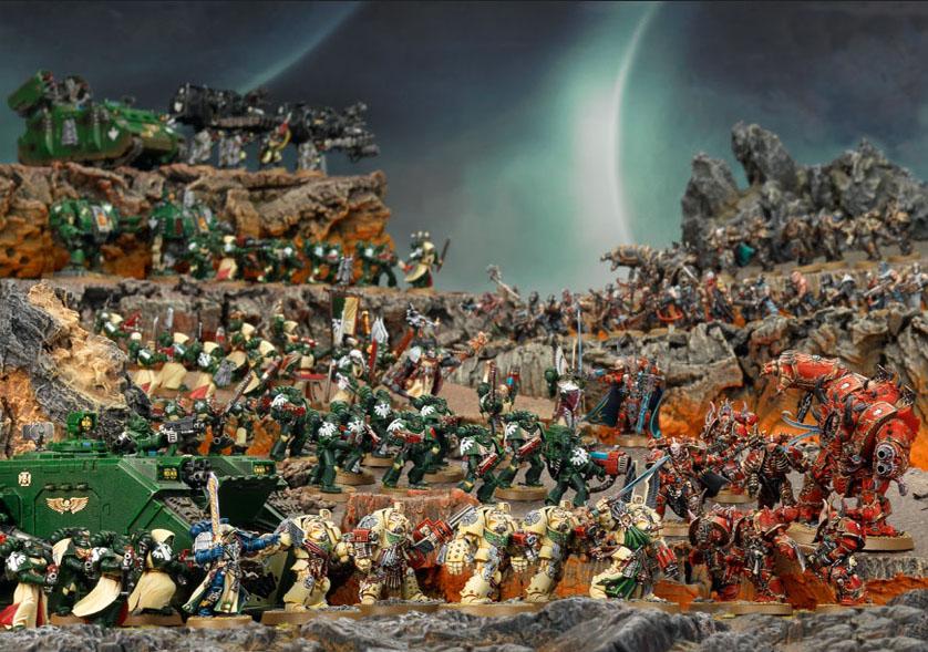 Warhammer 40.000 tiene una horda de seguidores... ¡por algo será!